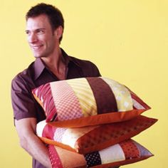 Tie pillows http://www.bhg.com/holidays/fathers-day/gifts/fathers-day-gifts/?page=1