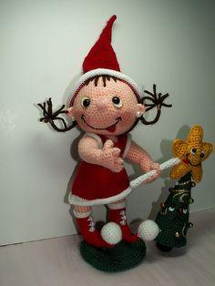 Funny Fairie of christmas by laurabdesign, via Flickr