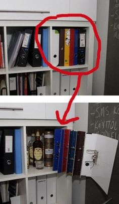Hiding alcohol - need to recreate this