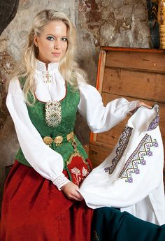 Follobunad Folk Costume, Costumes, Bell Sleeves, Bell Sleeve Top, All Things, Amazing People, Norway, Scandinavian, Traditional