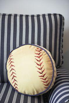 Boy's Bedroom Baseball theme | Inspiration Home 2012 | Milestone Custom Homes