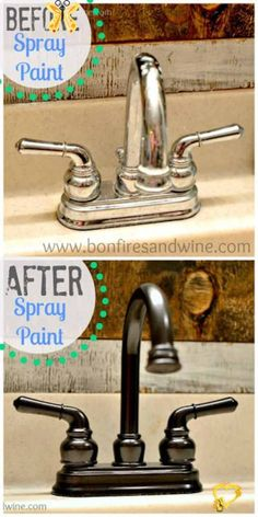 Home Renovation, Home Remodeling, Kitchen Remodeling, Cheap Home Decor, Diy Home Decor, Diy Decoration, Room Decor, Spray Paint Cans, Spray Painting