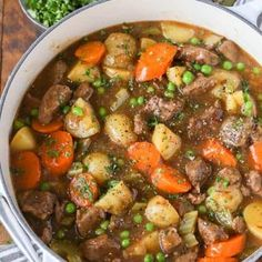 This beef strew recipe is comfort food heaven! Tender beef is simmered in beef broth with carrots, onions, celery, peas, and carrots until tender. Easy Beef Stew, Casserole Dishes, Taco Casserole, Pasta, Weeknight Meals, Pot Roast, Ground Beef, Carne, Pennies