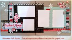 Let's Give 'em Something to Scrap About!: CTMH-- Snowhaven Wintery Layout