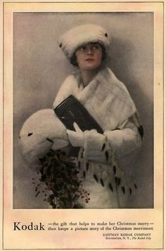 From the 1910's.....gorgeous Kodak ad....