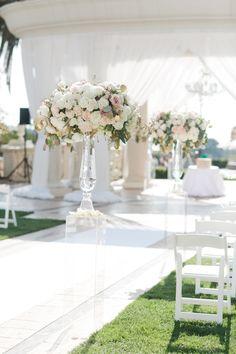 Floral Design: Little Hill Floral Designs - http://www.stylemepretty.com/portfolio/little-hill-floral-designs Event Planning + Design: A Good Affair Wedding