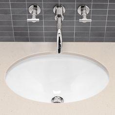 264,- € Villeroy & Boch Loop & Friends Unterbauwaschtisch B: 56 T: 37,5 cm weiß mit ceramicplus mit Überlauf