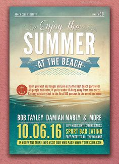 A Taste Of Summer Flyer  Posters    Of Flyers And Summer