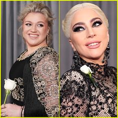 White Roses at Grammys 2018 - The Meaning Behind the Look | One trend that you can expect to see at the 2018 Grammy Awards tonight is stars wearing white roses on the red carpet and during the show. Stars have already showed up with their white roses to show solidarity for the Time's Up movement. The choice for a white rose was made as it's the color that suffragettes wore during their protests and also the color that Hillary Clinton wore to Trump's inauguration. | Just Jared . Jan 28, 2018
