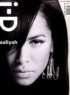 Aaliyah i-D magazine September 2001