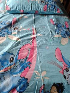 Lilo & STITCH LS1 CHARACTER BED SHEET PRICES: Single with comforter-P2,000 Double with comforter-P2,100 Queen with comforter-P2,200 set includes: 2 pillowcases, 1 fitted sheet and 1 comforter Shipping fee: 1 complete set: P200 2 complete sets: P350 To order: (1) send a PM (Private Message) on our Facebook Account- XARIXARIONLINESTORE (2) text 09158546004