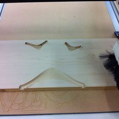Process of CNC milling Large Loops Board by 24d-studio
