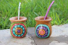 Resultado de imagen para mates pintados Crazy Home, Decor Crafts, Diy Crafts, Pottery Painting, Painted Pottery, Posca, Painted Pots, Mexican Art, Terracotta Pots