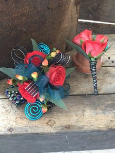 Our Custom Design Serpentine Arm Band Corsage With