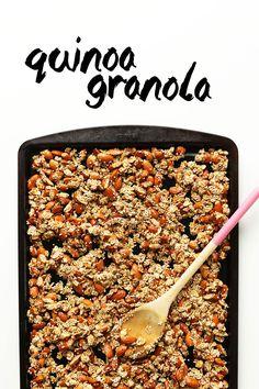 Simple Quinoa Granola | Minimalist Baker Recipes