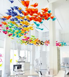 Dream Colourfully / art installation by Dream Interiors x Elixr