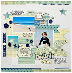 october afternoon layouts | Kim Watson Guest Post - 9 to 5