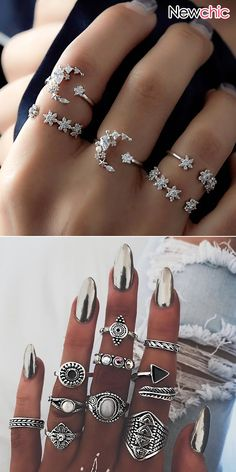 Fashion - beautiful jewelry for daily life, easy for clothes match. - - Fashion – beautiful jewelry for daily life, easy for clothes match. – Fashion – beautiful jewelry for daily life, easy for clothes match. Diy Jewelry Rings, Diy Jewelry Unique, Diy Jewelry To Sell, Hand Jewelry, Cute Jewelry, Boho Jewelry, Beaded Jewelry, Jewelery, Fashion Jewelry