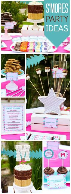 "Exciting  S'mores Under the Stars / Birthday ""S'mores Under the Stars Birthday"" 