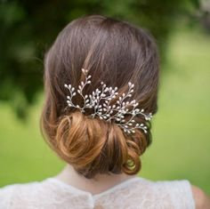 Handmade Pearl Vine Vintage Wedding Hair Pins