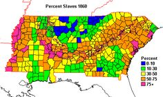 Percent Land in Farms Operated by Tenants in the Deep South (Mississippi, Alabama, Georgia, South Carolina) - 1910 County Map, Interesting Information, Interesting Facts, Information Graphics, Percents, Native American History, Data Visualization, Presidential Election, Map Art
