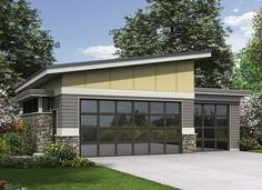 Plan 69618AM: Contemporary Garage Plan Idea