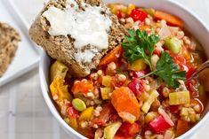 veggie stew :) Just skip the grain . . . fast friendly!