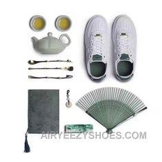 timeless design 9f5cb 97e36 Nike Air Force 1 AF1 Jade 919521-100 919896-100 White Jade Metallic Women  Men Cheap To Buy 5tQ8j, Price 118.47 - Air Yeezy Shoes