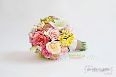 Hand-made Clay Flower Bouquet by Tracey Paul. Photo by www.jnphotography.ca @filemanager
