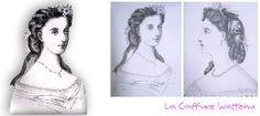 La Coiffure WATTEAU Art, Curly Hair, Hairstyle, Art Background, Kunst, Gcse Art
