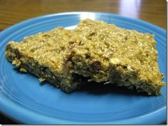 Experimental Granola Bars- 4 Points Plus