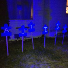Light it up blue :) ~ I love this and putting it on my project list!