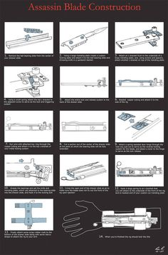 Hidden Blade construction instructions