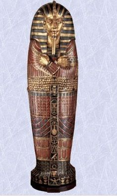 King Tut Egyptian Life-Size Sarcophagus Cabinet Decoration new (The Digital Angel) Home History, Decorating Your Home, All Black, Angel, King, Statue, Cabinet, Amazon, Digital