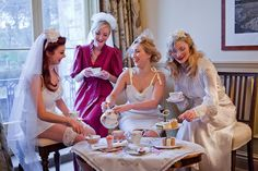 Bridal champagne afternoon tea « Isle of Wight Wedding Photographer