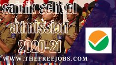 National Testing Agency will conduct All India Sainik School Entrance Examination (AISSEE 2021) on January 10, 2021. Earlier, Sainik School admission test was conducted by Sainik School Society. But this year, NTA will organize AISSEE ... Read moreNTA to conduct AISSEE 2021 exam on January 10, Applications to be started from October 20 The post NTA to conduct AISSEE 2021 exam on January 10, Applications to be started from October 20 appeared first on TheFreeJobs.Com. School Entrance, School Admissions, January 10, Last Date, Apply Online, Important Dates, Organize, How To Apply, Student