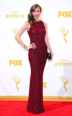 Lauren Lapkus from 2015 Emmys: Red Carpet Arrivals