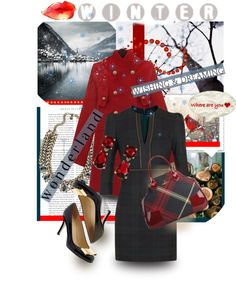 """Winter Wonderland"" by mponte ❤ liked on Polyvore"