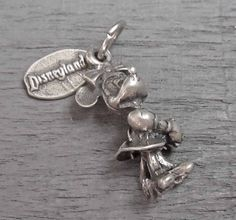Disneyland Sterling Minnie Mouse Charm, Sterling Silver Charm, Walt Disney Minnie Mouse Charm, Disney Charm for Charm Bracelets Sterling Silver Charm Bracelet, Silver Chain Necklace, Silver Charms, Silver Ring, Charm Bracelets, Silver Jewelry Cleaner, Disney Charms, Disney Jewelry, Charmed