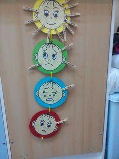 Diy And Crafts, Crafts For Kids, Emotion, Teacher Hacks, Montessori, Babyshower, Clock, Education, Decor