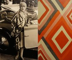 Sonia Delaunay's textile and costume designs