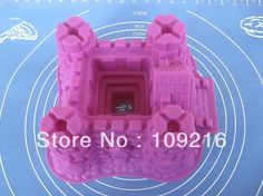 New style Castle Green Good Quality Food Grade Silicone Cake DIY Mold Soap Molds, Silicone Molds, Corn Hole Game, Diy Molding, Diy Cake, Cake Mold, Food Grade, Castle, Green