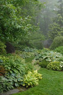 Pocket Garden - traditional - landscape - portland maine - by James R. Salomon Photography