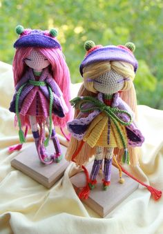 Muñeca a crochet de KUKUKOLKI
