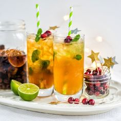 This Spiced Winter Mojito Needs to Become Your Signature Festive Cocktail!