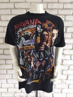 82e2a747f 10 Best Vintage Nirvana Shirt images | Nirvana shirt, Free delivery ...