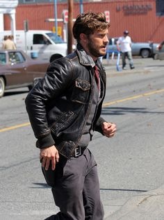 Jamie Dornan - 'Once Upon a Time' Films in Vancouver