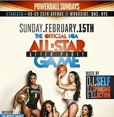 The Official NBA All Star Game After Party @ Starlets Sunday February 15, 2015 « Bomb Parties – Club Events and Parties – NYC Nightlife Promotions