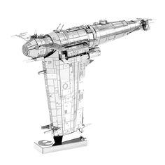 Fascinations Metal Earth 3D Laser Cut Model Kit Star Wars Last Jedi Resistance Bomber