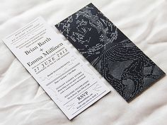 Oh So Beautiful Paper: Emma + Brian's Star Map Wedding Invitations